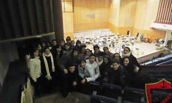 Visita al ensayo de la orquesta de RTVE