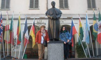 Orientación: Herminia y Mercedes en Turín