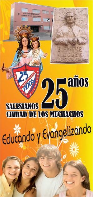 Programa Actos 25 años Salesianos Ciudad de los Muchachos
