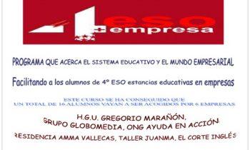 Programa 4º E.S.O. + Empresa