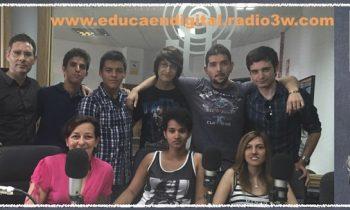 Alumnos de FP en la radio «Educa en Digital»