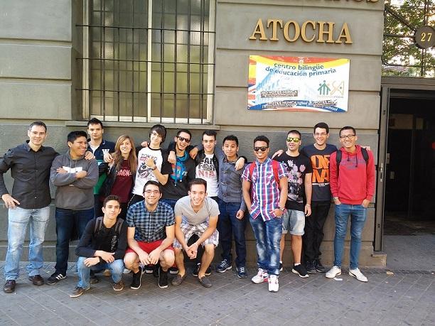 Fraternidad entre centros Salesianos Atocha-Ciudad de los Muchachos