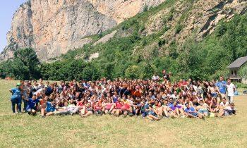 8.000 niños y jóvenes participan en los campamentos de verano de la Inspectoría