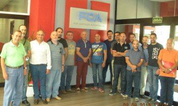 Actualización tecnológica de profesores de Automoción de centros salesianos de España