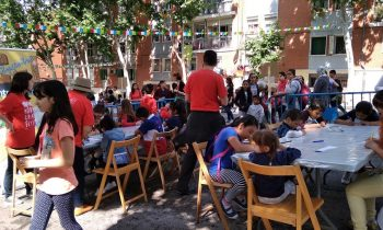 Un año más en el Día Infantil y Juvenil de Vallecas 2018