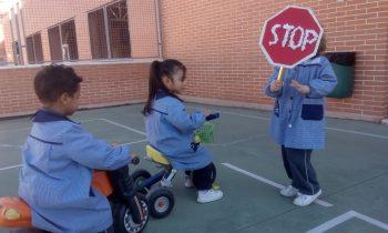 Circuito Vial – Proyecto Los Transportes en Infantil