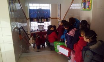 Nuestros peques de infantil de 4 años se van de viaje a Londres