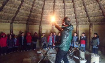 Infantil viaja a la Prehistoria en Arqueopinto