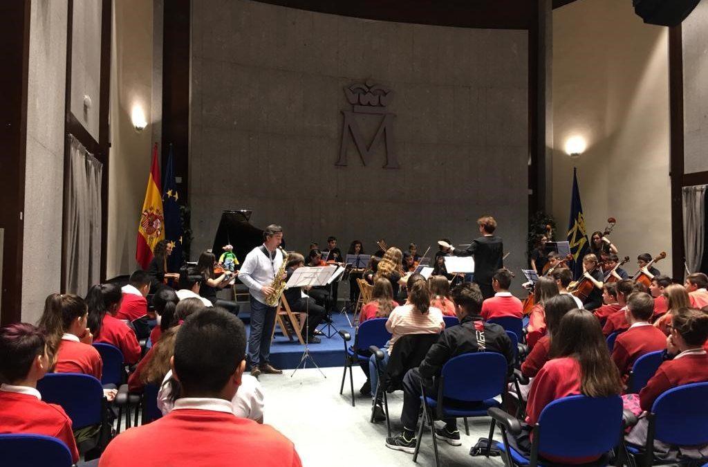 De concierto en la Real Casa de la Moneda