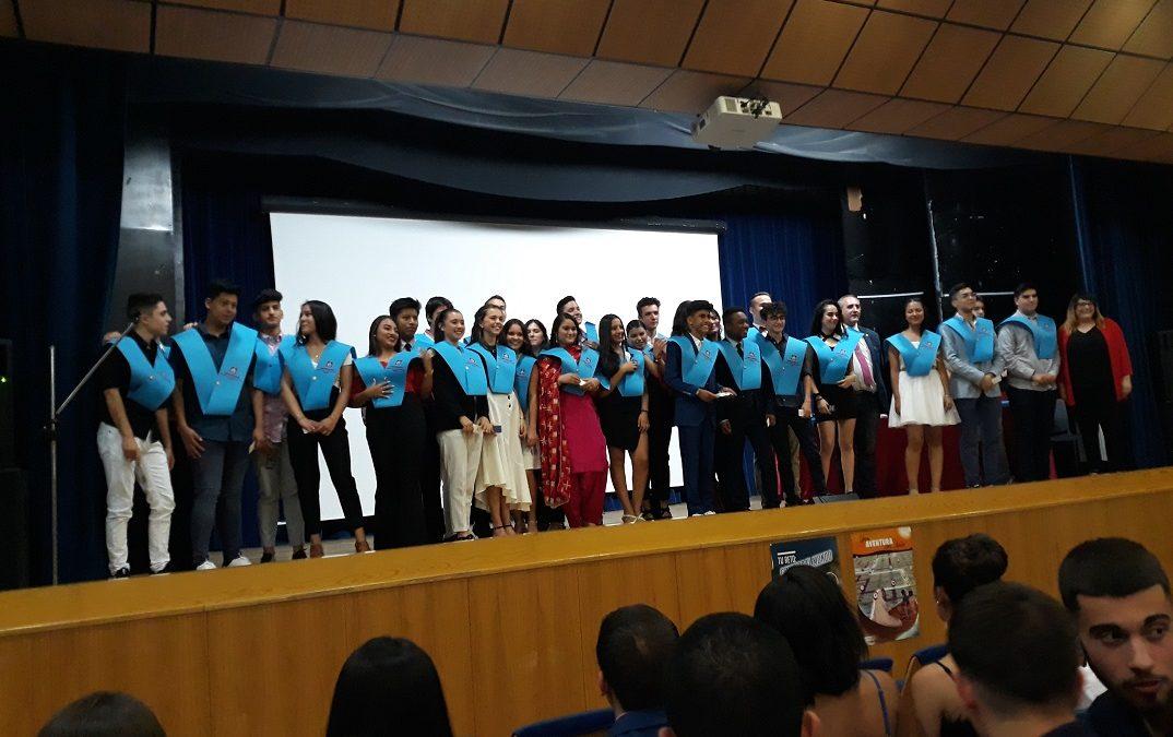 Graduación 4º ESO Curso 2019-20 en Ciudad de los Muchachos