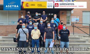 3ª EDICIÓN  DE CURSO  DE MANTENIMIENTO DE VEHÍCULOS HÍBRIDOS Y ELÉCTRICOS PARA PROFESIONALES DEL SECTOR
